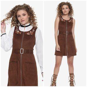 Her Universe Star Wars Han Solo Suede Zipper Dress
